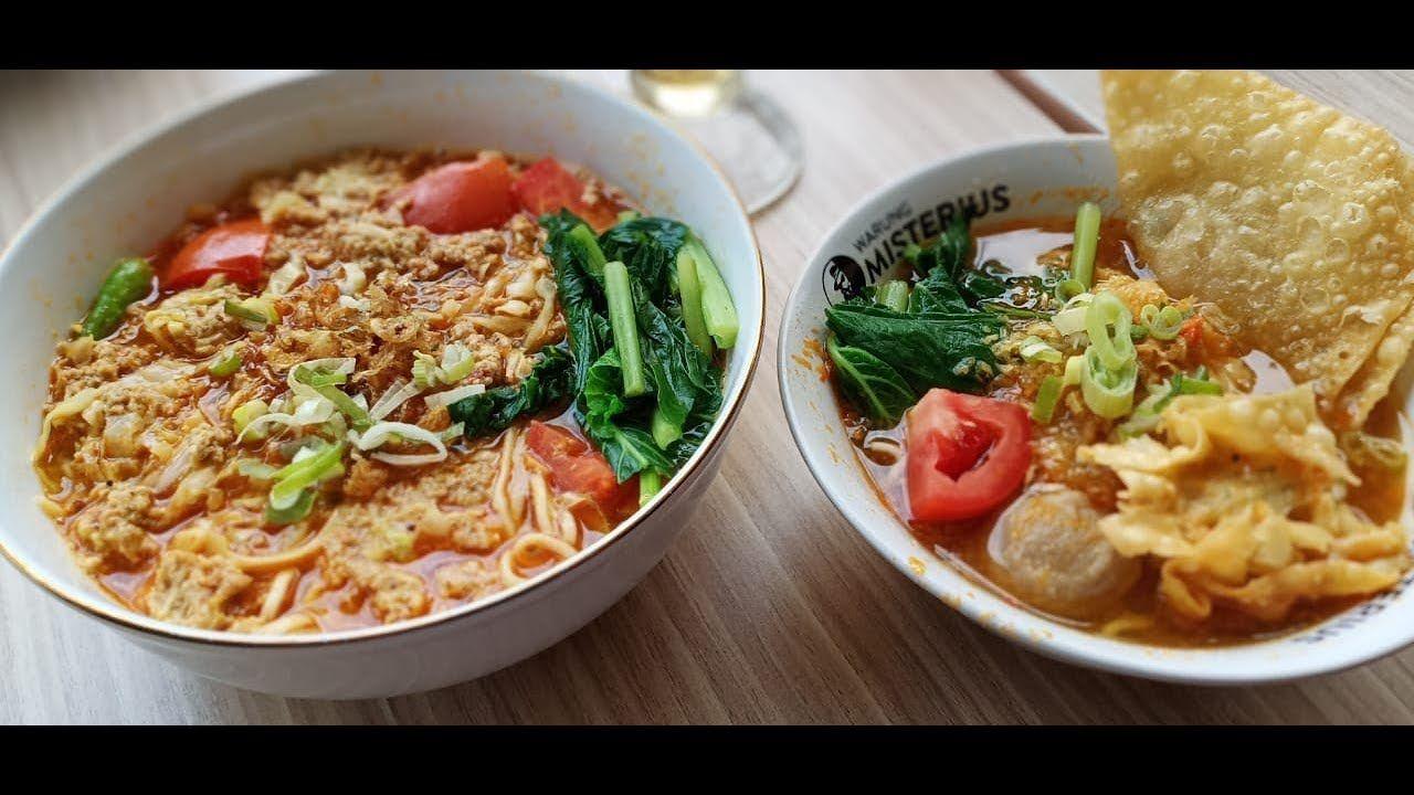 Bakso Kuah Merah Dan Mie Godok Di Bakso Misterius Resep Masakan Indonesia Resep Makanan Bakso