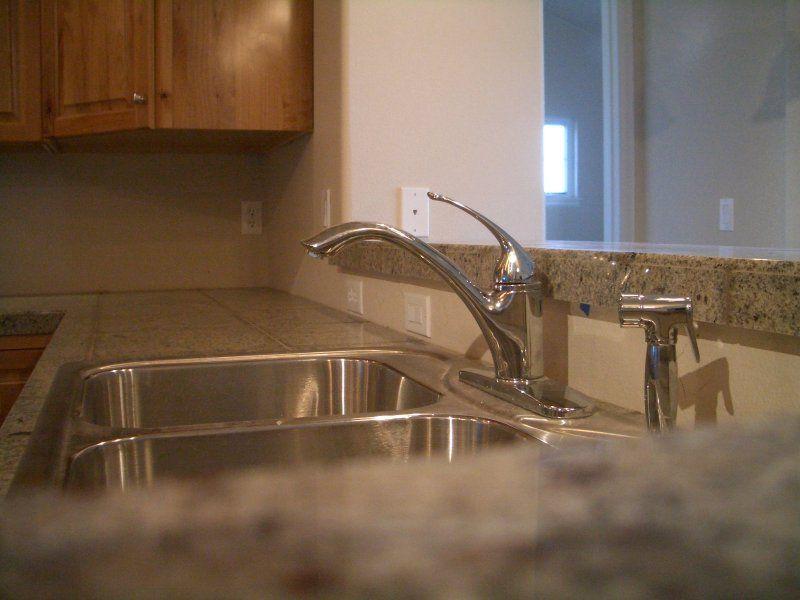 Granite Tile Kitchen Countertop and Bar | Tile Art Center