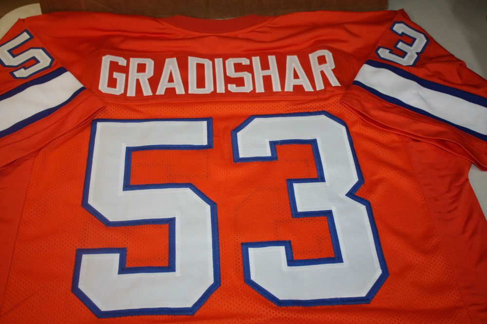 wholesale dealer 81874 301a1 DENVER BRONCOS RANDY GRADISHAR #53 CUSTOM THROWBACK JERSEY ...