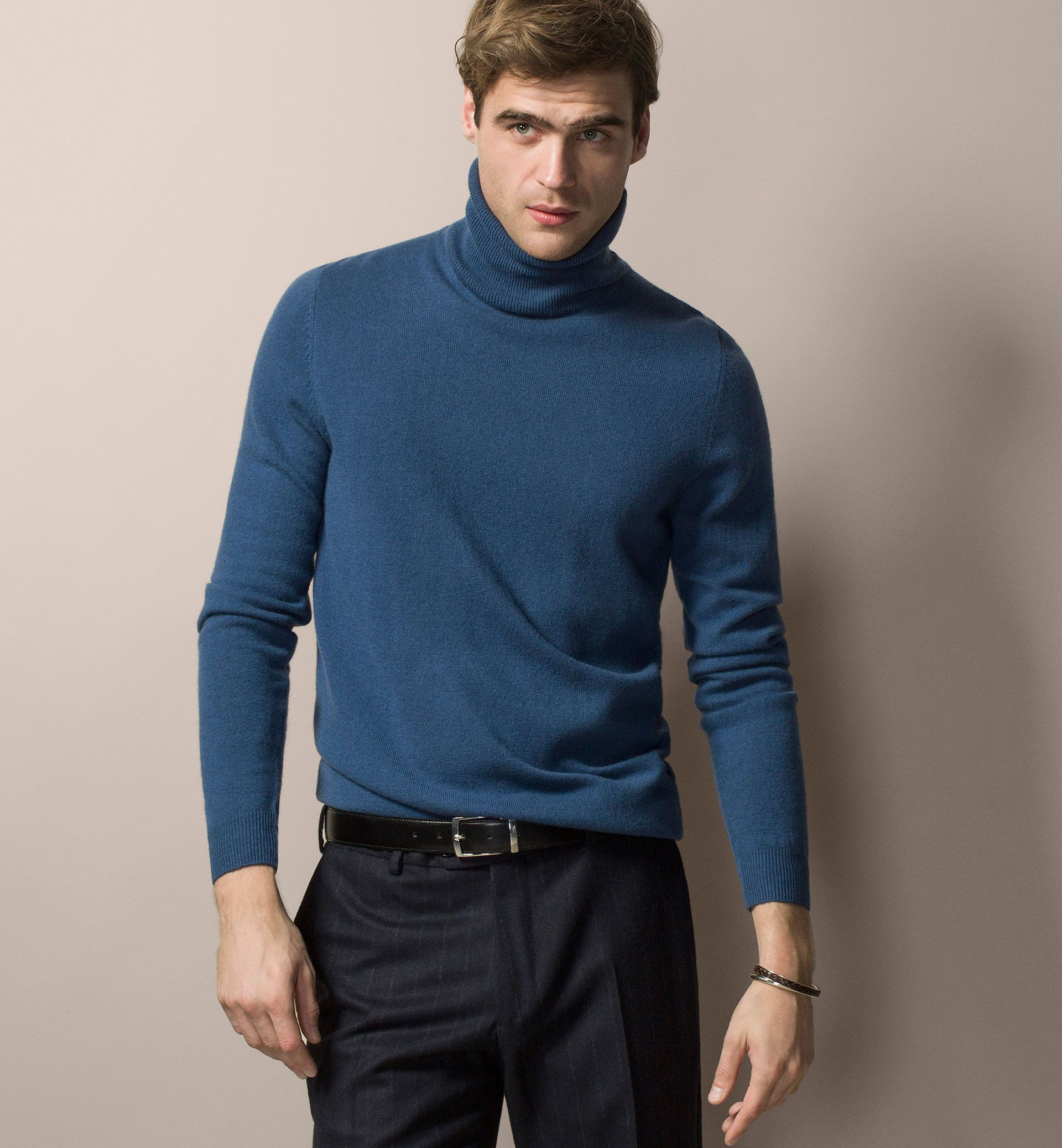 Men\u0027s Winter sale jumpers at Massimo Dutti, must-haves for this season.  Discover men\u0027s grey, beige or black knit, turtleneck and V-neck jumpers on  sale.