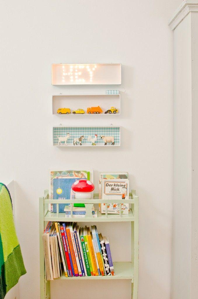 diy Leuchtschrift für´s Kinderzimmer (upcycling Diy