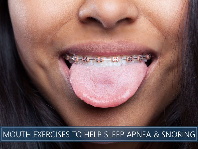 Tongue, Throat & Mouth Exercises to Stop Snoring & Sleep
