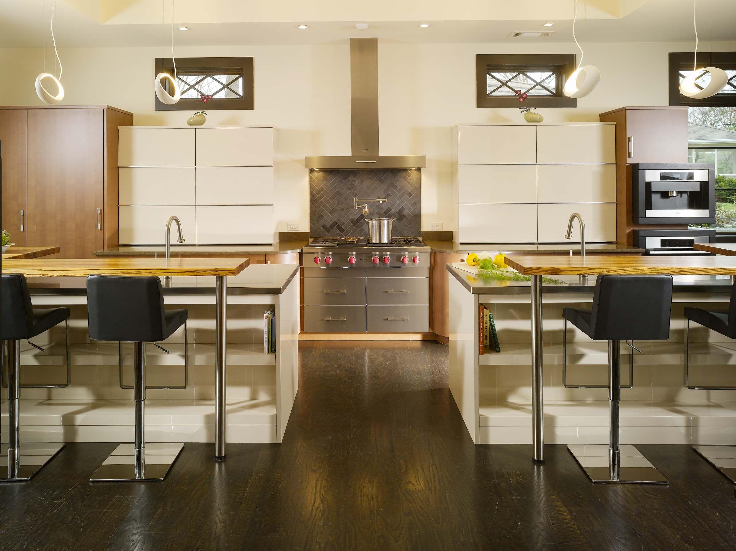 Beautiful open kitchen renovation by CSI Kitchen & Bath Studio #kitchenrenovation #Leicht