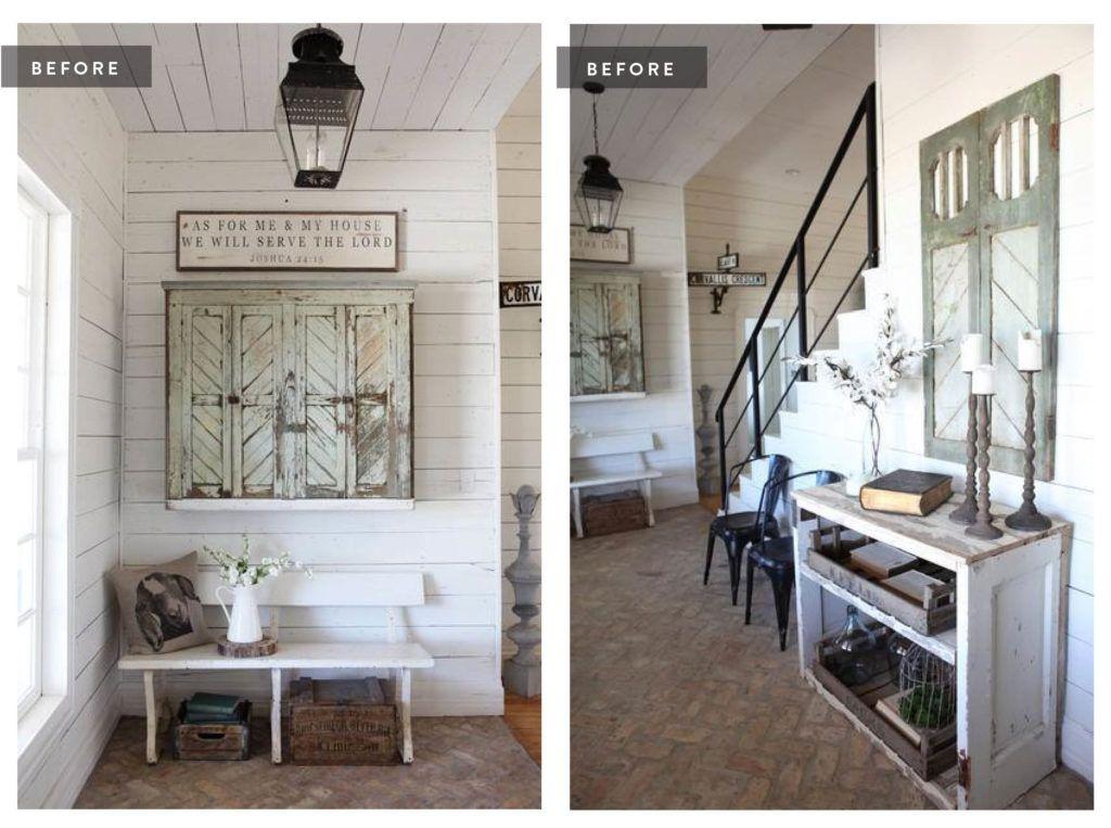 foto de A Look Inside Our Farmhouse | Farmhouse master bedroom, Farmhouse ...