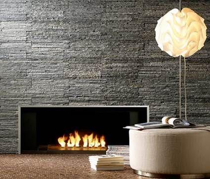 Ideas revestimiento chimeneas con piedra artificial - Revestimiento piedra artificial ...