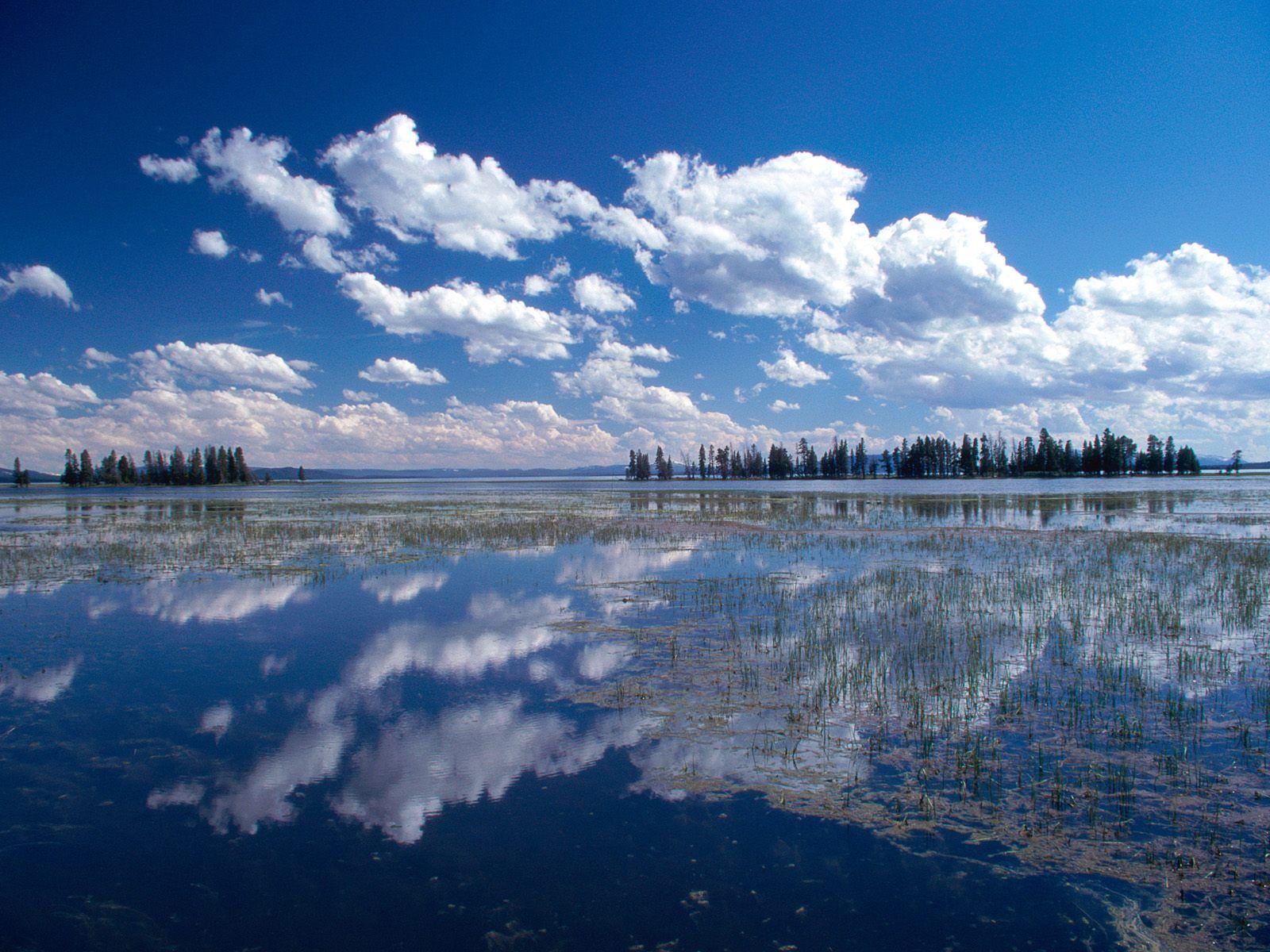 Yellowstone Lake Yellowstone National Park Wyoming US Favorite - Us national parks yellowstone