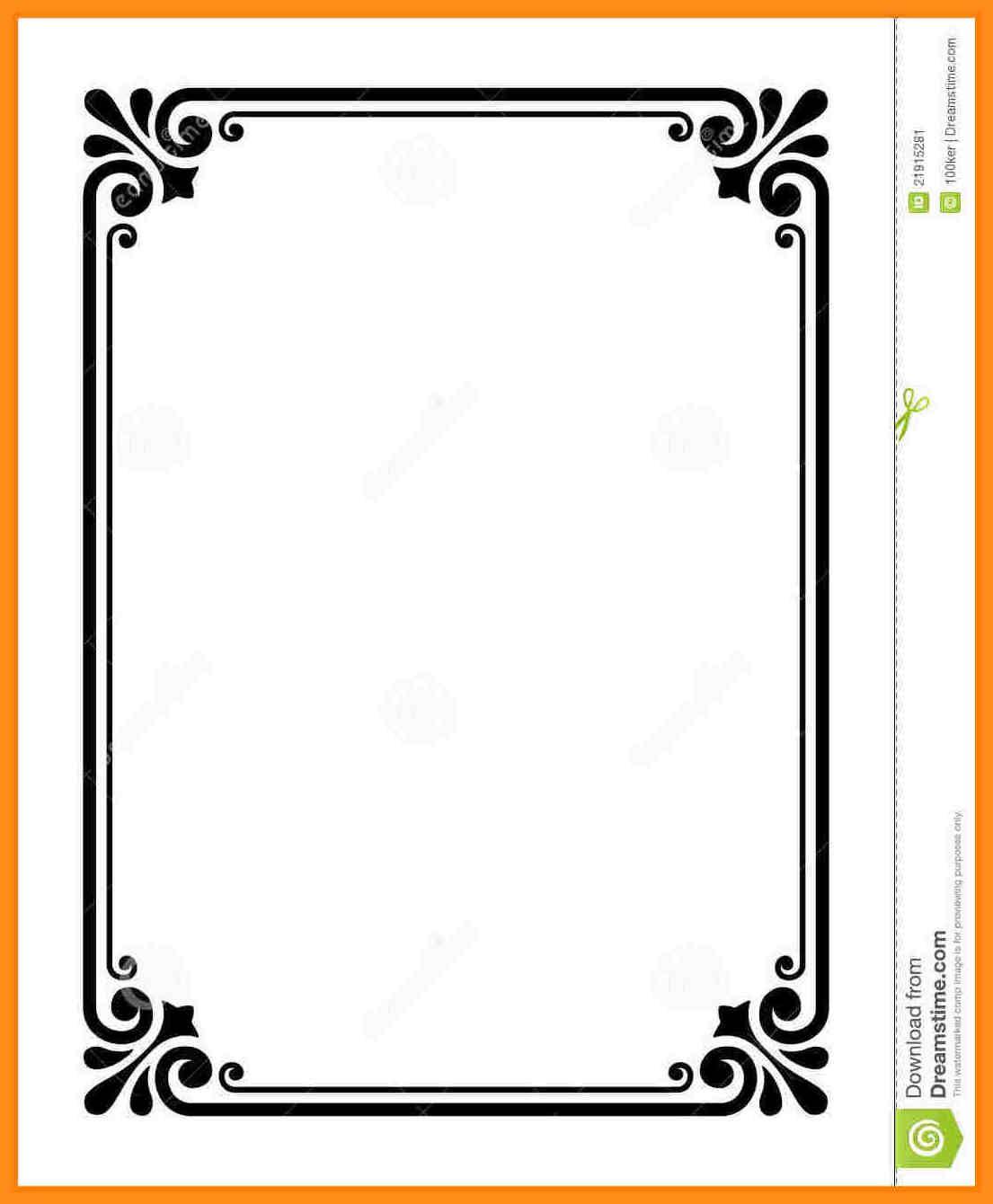 11 Sample Certificate Border Designs