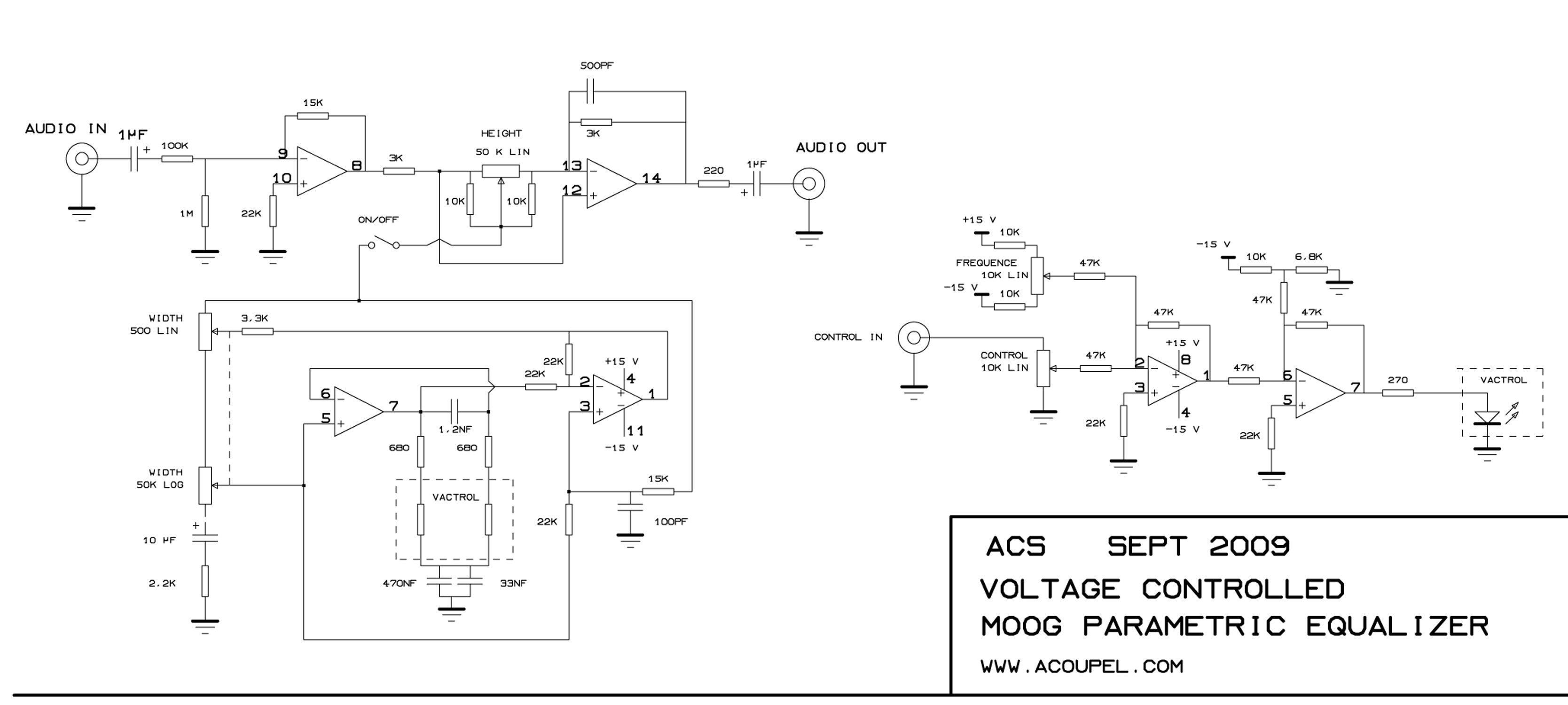 electro-music com wiki | Schematics / Moog Parametric