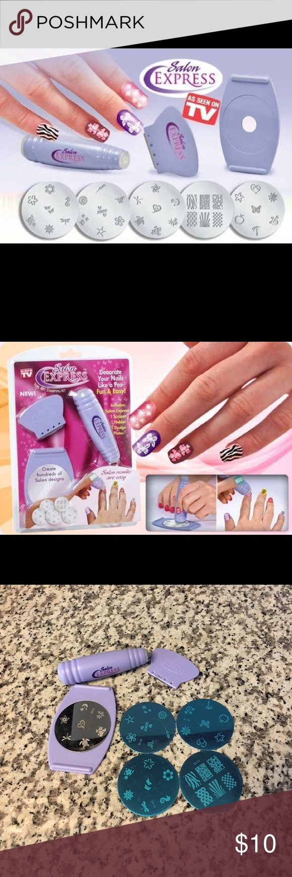 Sold Salon Express Nail Art Kit Pinterest Express Nails