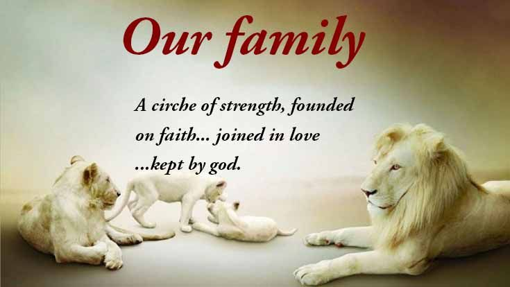 Inspirational Family Quotes Interesting 10 Most Inspirational Family Quotes With Beautiful Images . Design Ideas