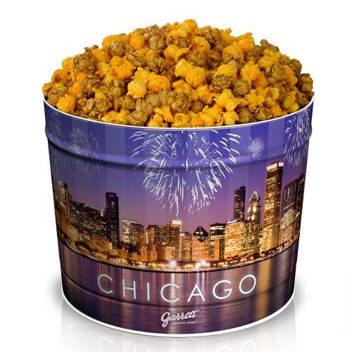 Chicago Mix From Garrett Popcorn Garrett Popcorn Popcorn