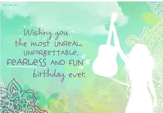 Taylor swift happy birthday card taylor swift birthday greeting