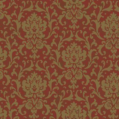 Texture Graystone Estate Vintage Damask HD6914 Burgundy Wallpaper