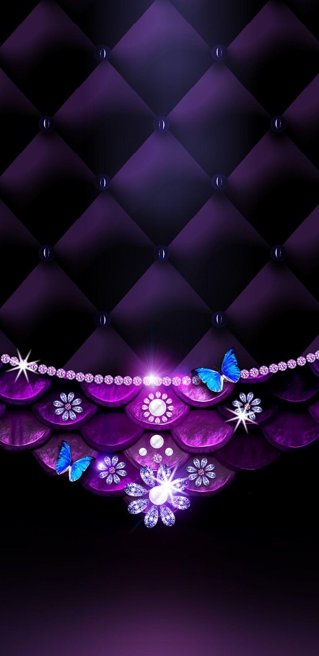samsung wallpaper purple Hintergrundbild tapete in 2020