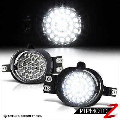 Left Right Ultra Bright White Led Fog Light Driving Drl Lamp 02 08 Dodger Ram Ebay Bright White Led Black Diamond Headlamp Ram Trucks Accessories