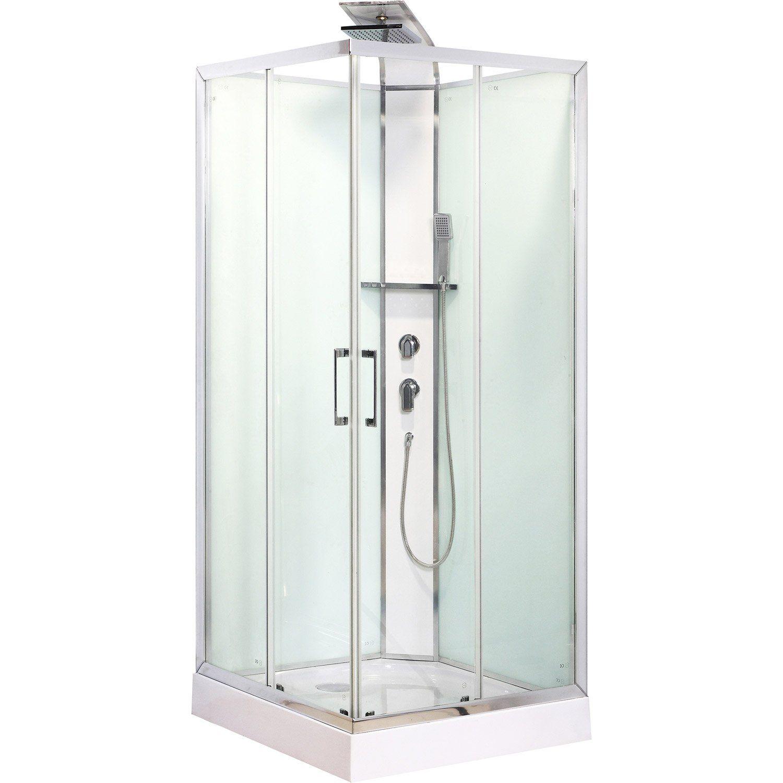 Accès à la douche:Angle                                                                                                                                           Type de douche:Simple                                                                                                                                           Type de porte:Coulissante                                         ...