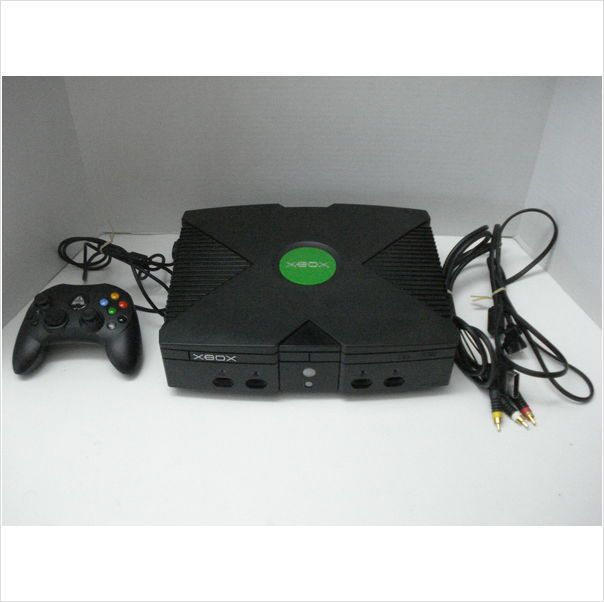 Original Xbox Console Serial # 414587644605 - Ready to Plug and Play Video Games 091001212820 on eBid United States