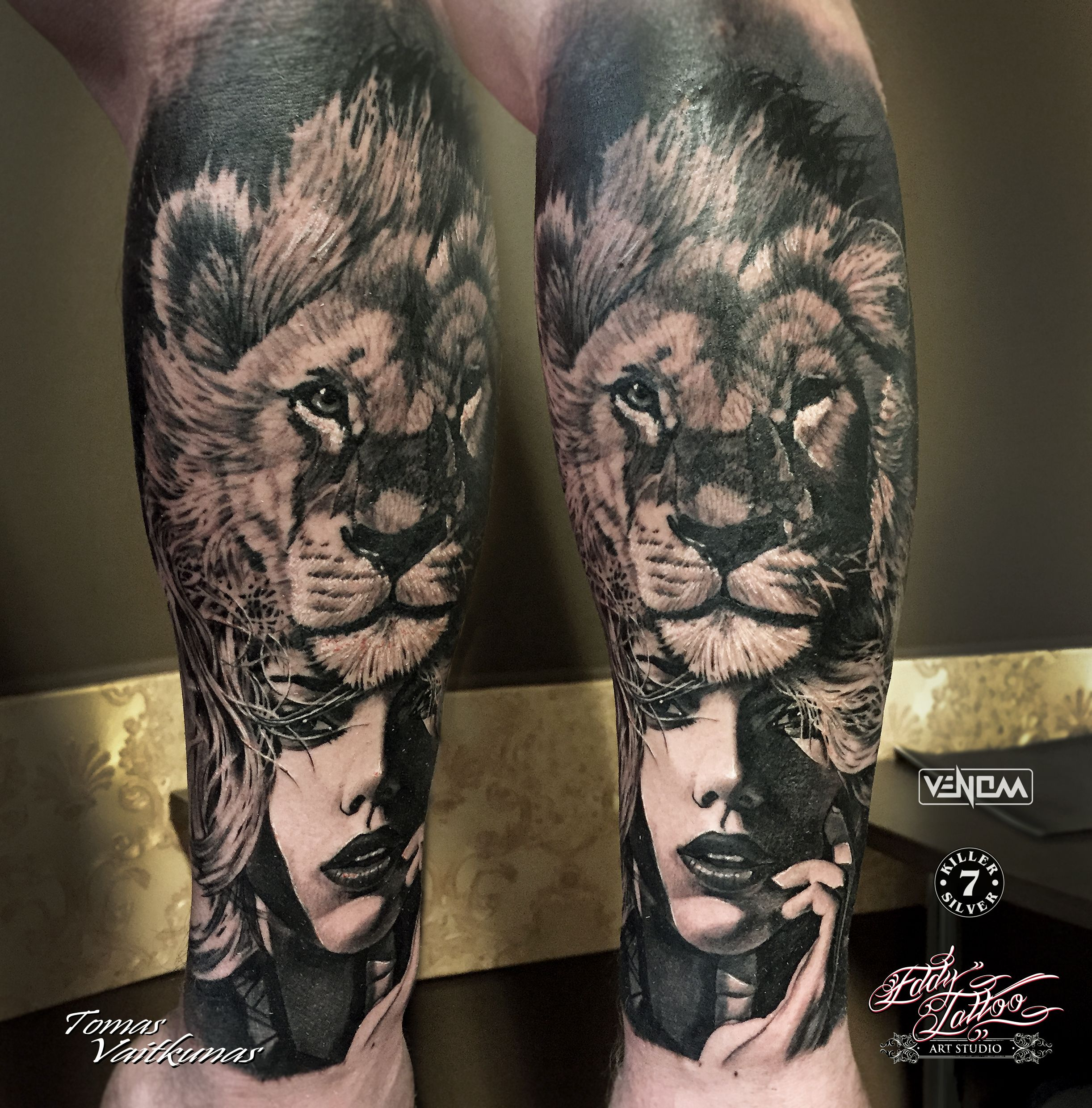 150 realistic lion tattoos and meanings 2017 collection -  Lion Girl Tattoo Www Tomasvaitkunas Com