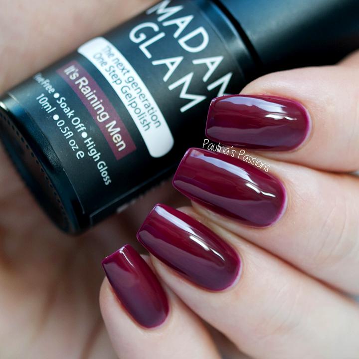 Madam Glam One Step Gel - It\'s Raining Men   Nail/Toe Colors/Designs ...