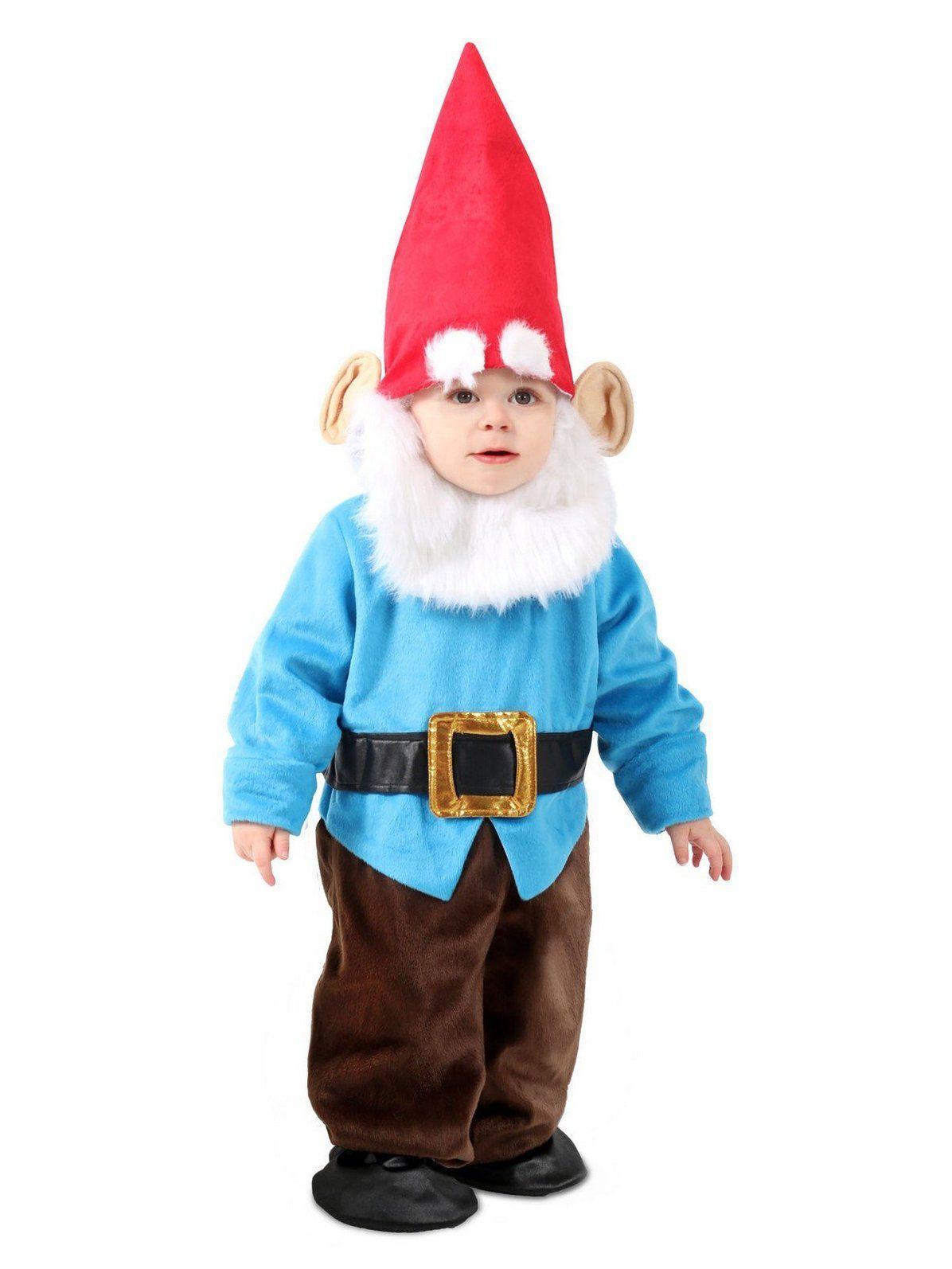 Toddler Littlest Garden Gnome Costume #gnomecostume