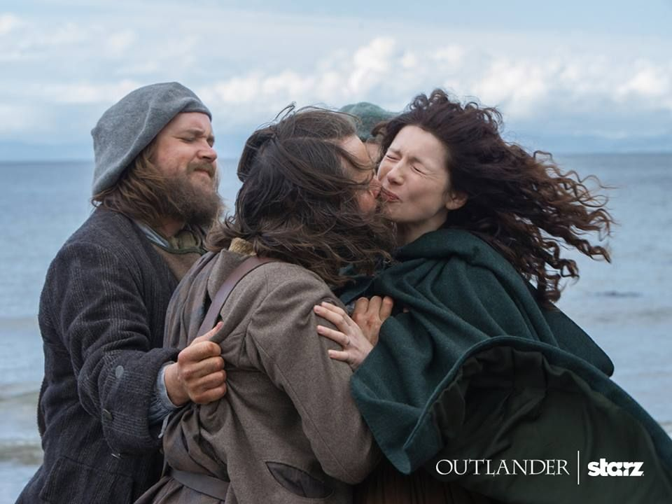 Classic Angus... Outlander on Starz via Outlander Facebook