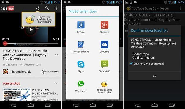 Youtube Song Downloader App Android Gratuita Para Descargar Videos