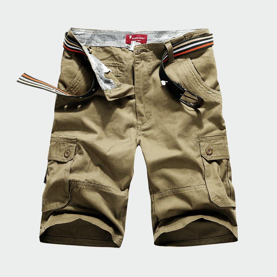 Mens basketball shorts on sale free shipping - 2017 Mens Fashion Cargo Shorts Original Single Multi Pocket Men S Casual Overalls Exercise Shorts
