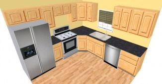 http://www.thedoorguyinc/kitchen-cabinets.html 10 x 10 kitchen