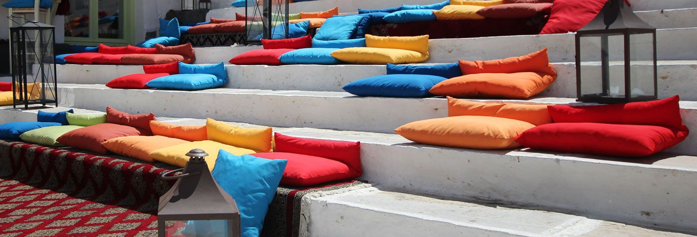 Steps Bar in Ios, Greece #iosgreece #greekislands #cyclades