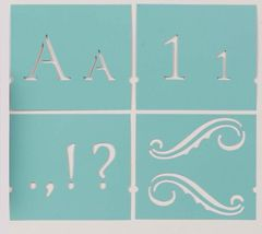 Martha stewart crafts monogram serif alphabet stencil set 48pc martha stewart crafts monogram serif alphabet stencil set 48pc spiritdancerdesigns Images
