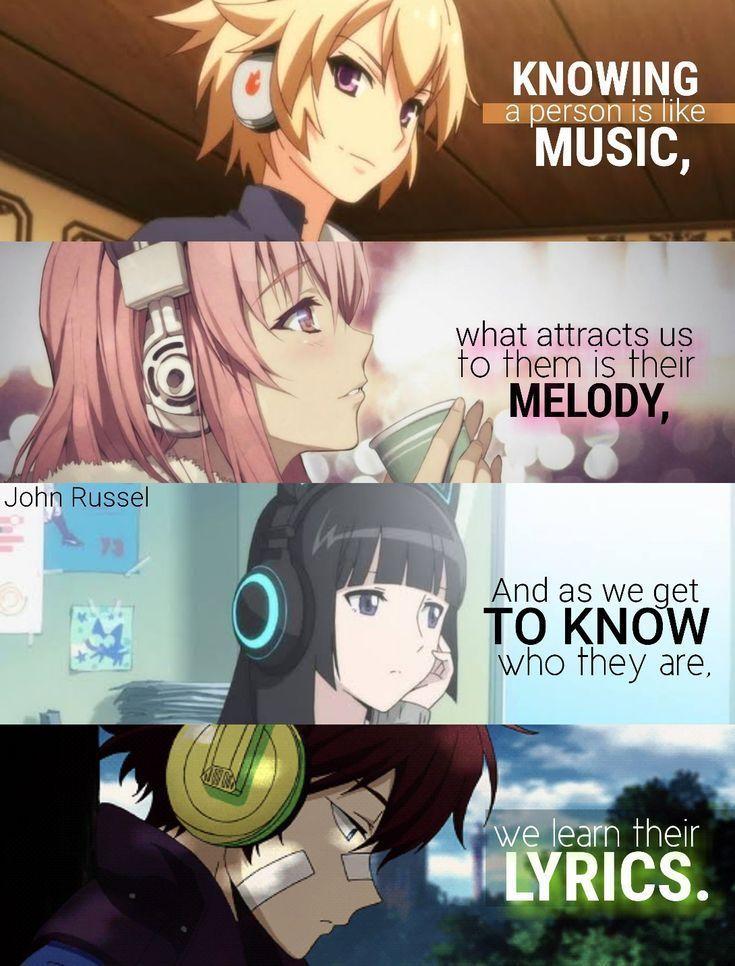 Eine Person zu kennen ist wie eine Musik, was uns an ihnen anzieht, ist ihre Melodie und ...  #anzieht #ihnen #kennen #melodie #musik #person