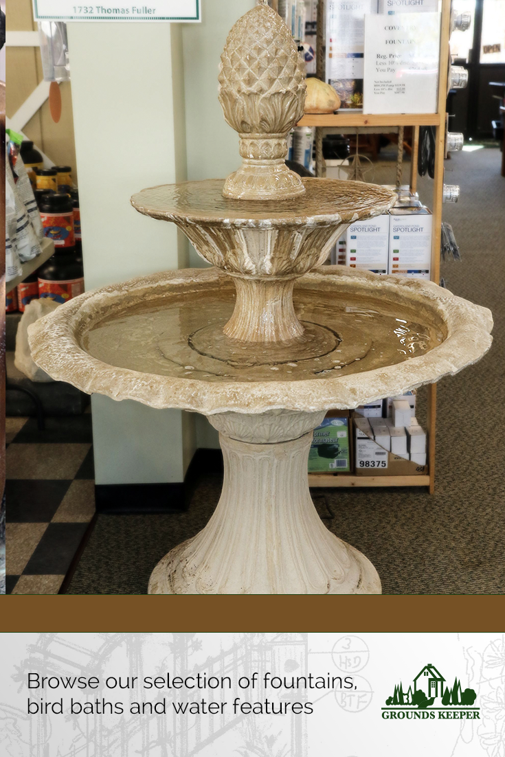 Check out the in-stock fountains at our Matawan NJ showroom.