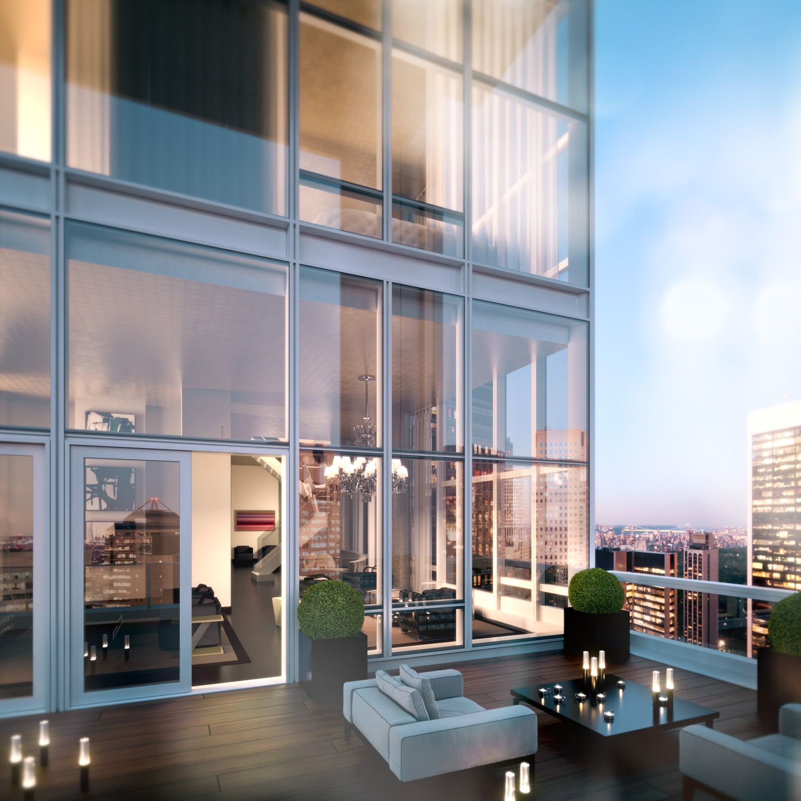 Baccarat residences ny penthouse billionaires 39 boys club for New york luxury penthouses