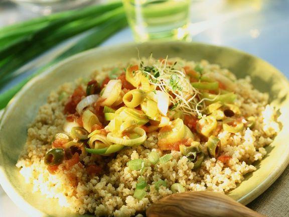 Hirse mit Gemüse ist ein Rezept mit frischen Zutaten aus der Kategorie Gemüse. Probieren Sie dieses und weitere Rezepte von EAT SMARTER!
