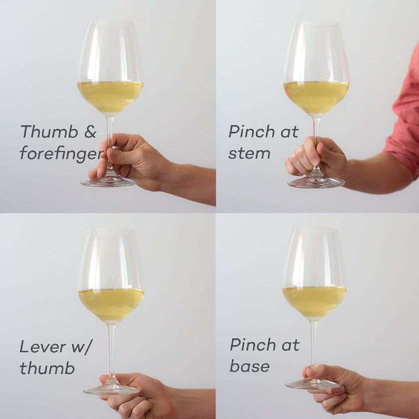 How To Hold A Wine Glass Wine Etiquette Wine Glass Best Wine To Drink