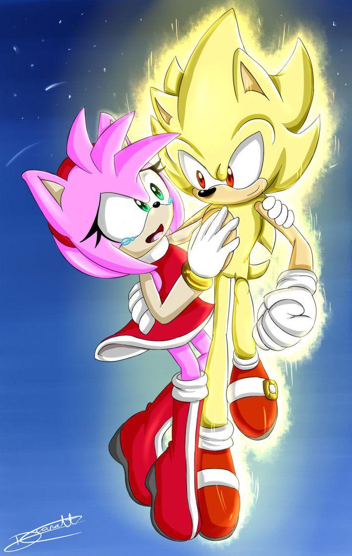 Sonamy super sonic by diana itz equestria girls e sonic - Super sonic 6 ...