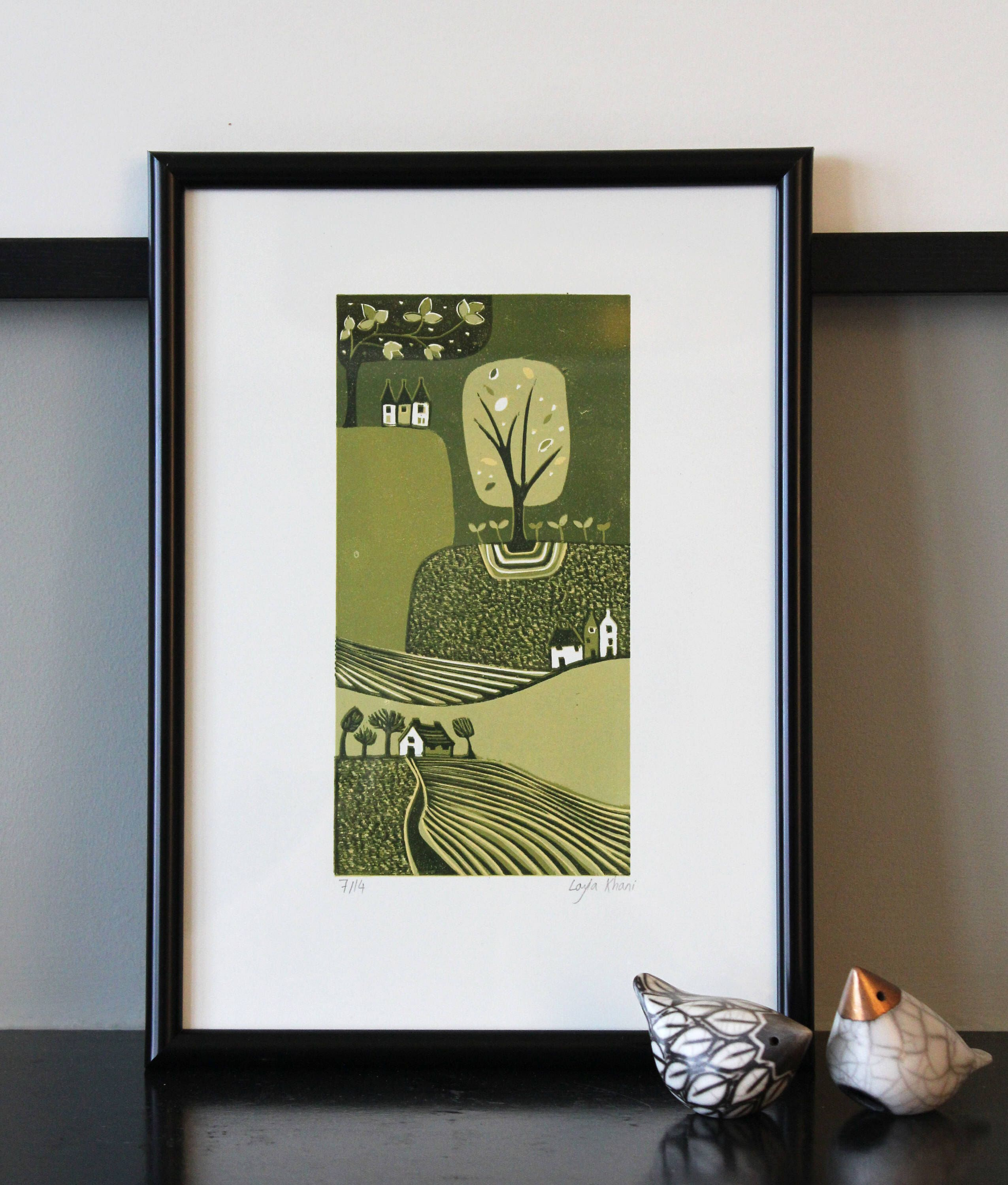 A personal favourite from my etsy shop https www etsy com uk listing 536528452 art prints wall art prints original lino