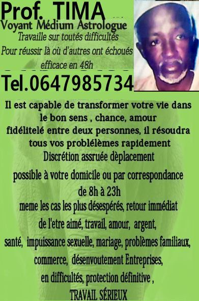 Puissant Marabout Africain Medim Voyant Transformez Votre Vie Voyante Voyant Medium