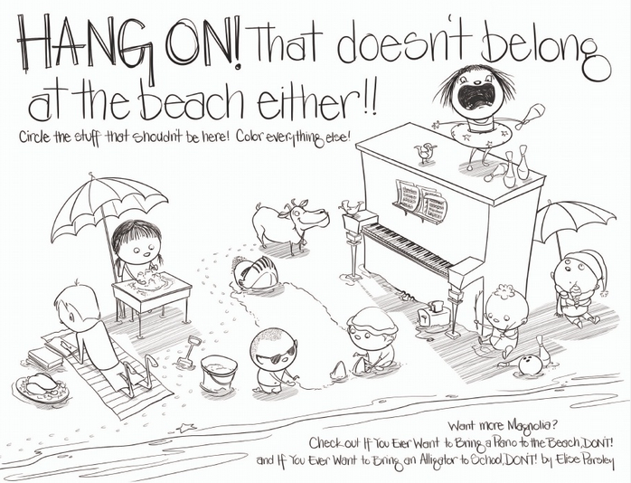 IF YOU EVER WANT TO BRING A PIANO TO THE BEACH, DON'T