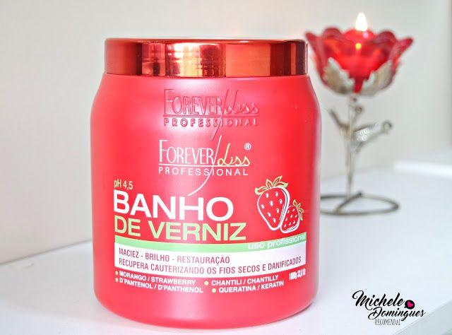 Cauterizacao Hidratante Banho De Verniz Morango E Chantilly