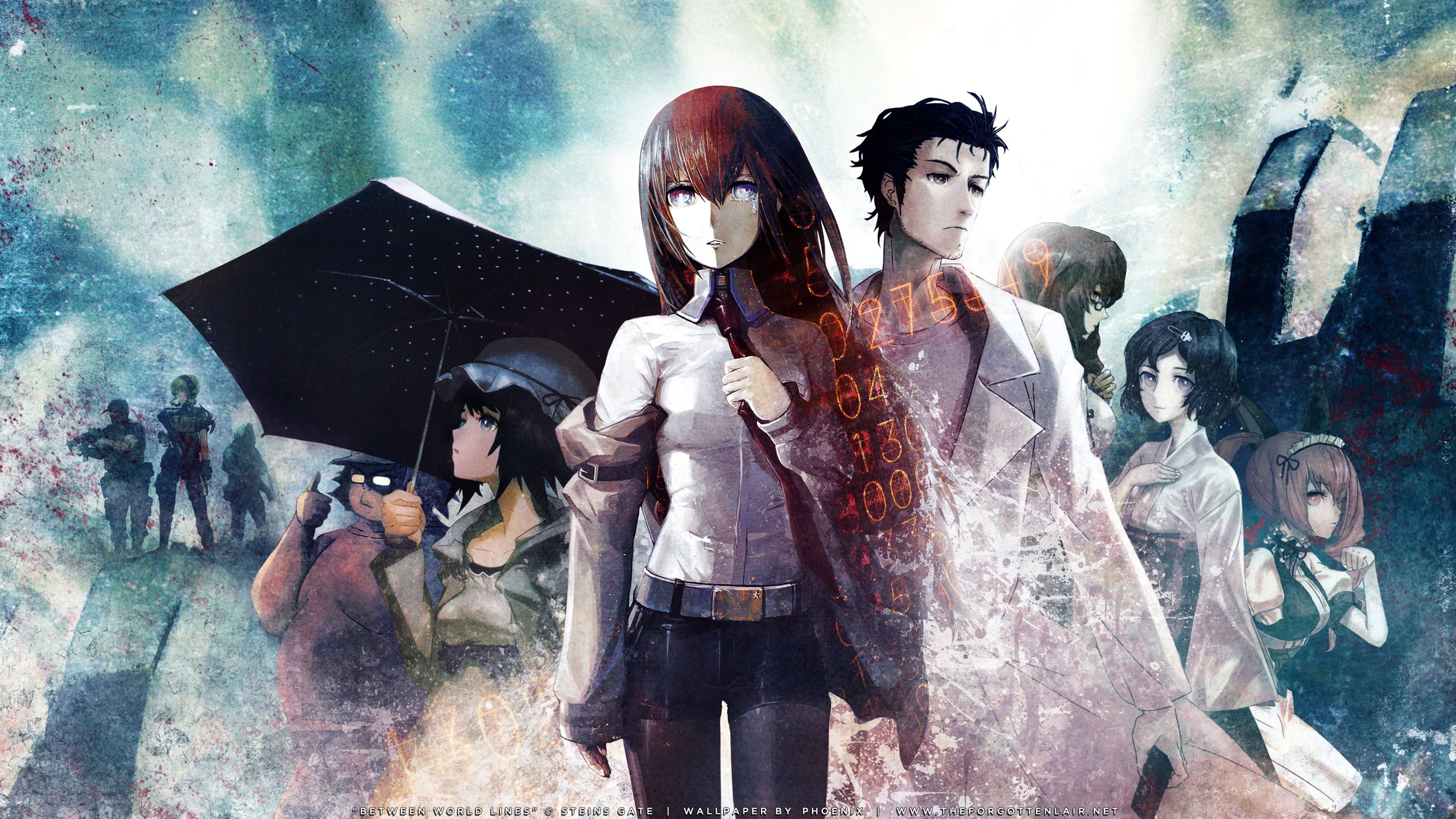 Image Result For Steins Gate Wallpaper アニメ シュタゲ 絵