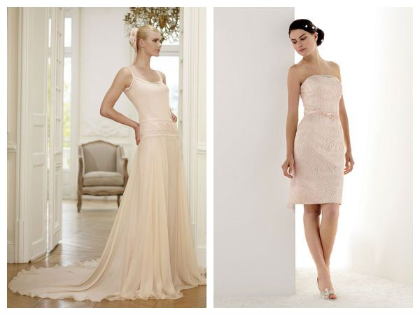 1000 images about robe pour mariage on pinterest manche one shoulder and blush bridesmaid dresses - Robe Rose Poudre Mariage