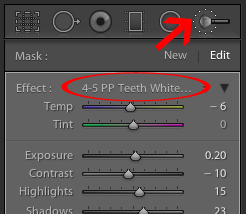 How to Whiten Eyes & Teeth in Lightroom | Pretty Presets for Lightroom