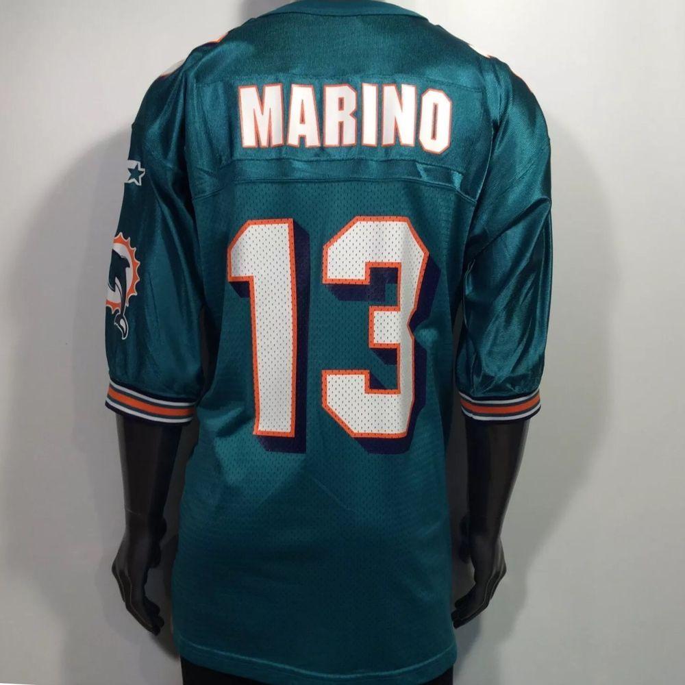 ORIGINAL 1995 STARTER Miami Dolphins Dan Marino  13 Men s XL (52) Jersey  NEW!  Starter  MiamiDolphins d7a2dde1f