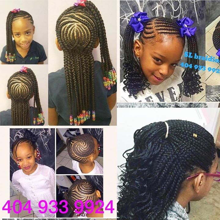 Special Back To School Any Style Of Braids And Weaves Backtoschool Braidsschool Childsbraids