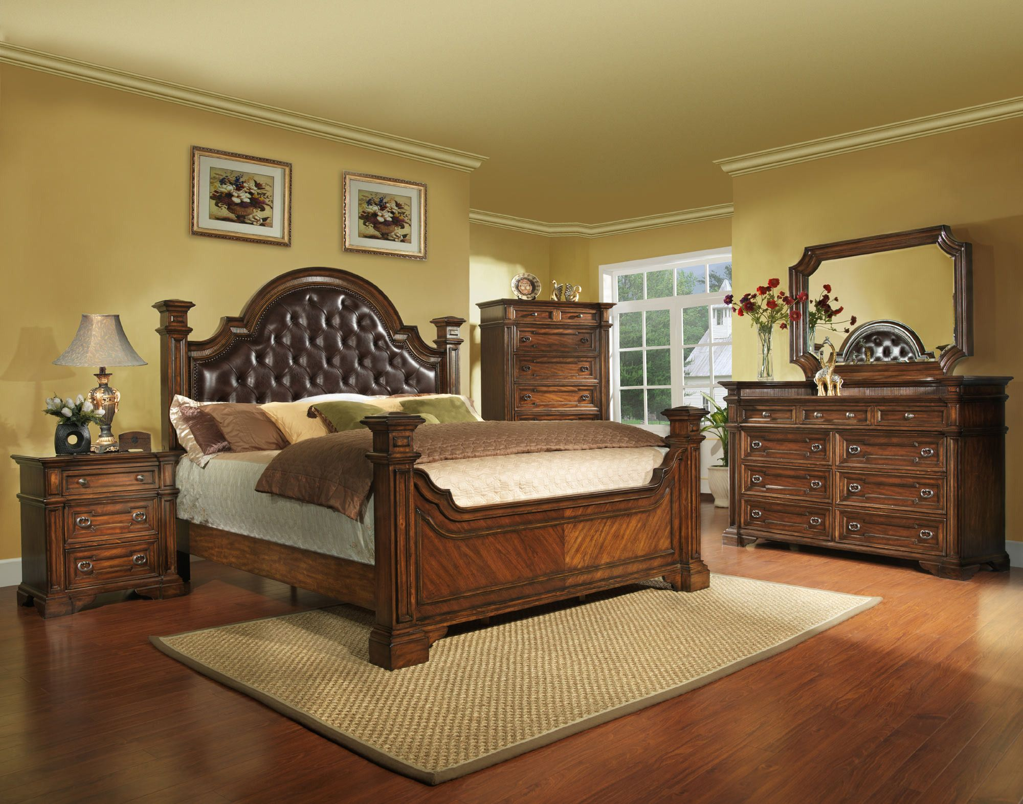 Highland ridge upholstered bedroom set avalon furniture home