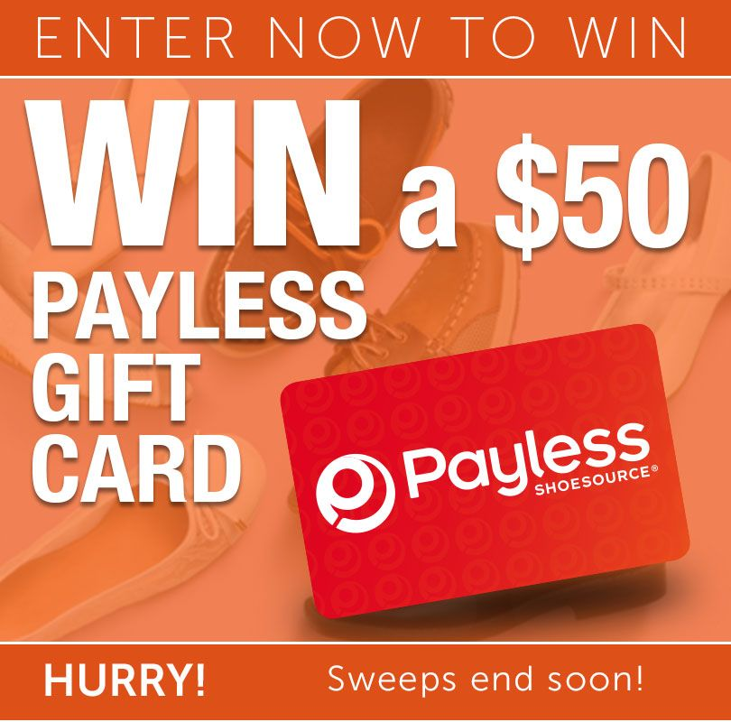 Win 50 Payless Gift Card More Contests Contestshunter Blogspot Com Sephora Gift Card Sweepstakes Giveaways Giveaway Contest