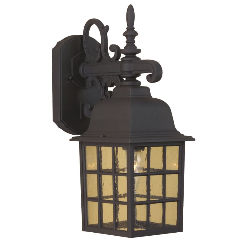 Craftmade Z270 Grid Cage 15 1 Light Outdoor Wall Sconce Matte Black Outdoor Lighting Wall Sconces Outdoor Wall Sconces Outdoor Sconces Outdoor Walls Outdoor Wall Sconce
