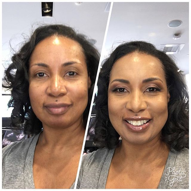 Before After My Makeup Makeover