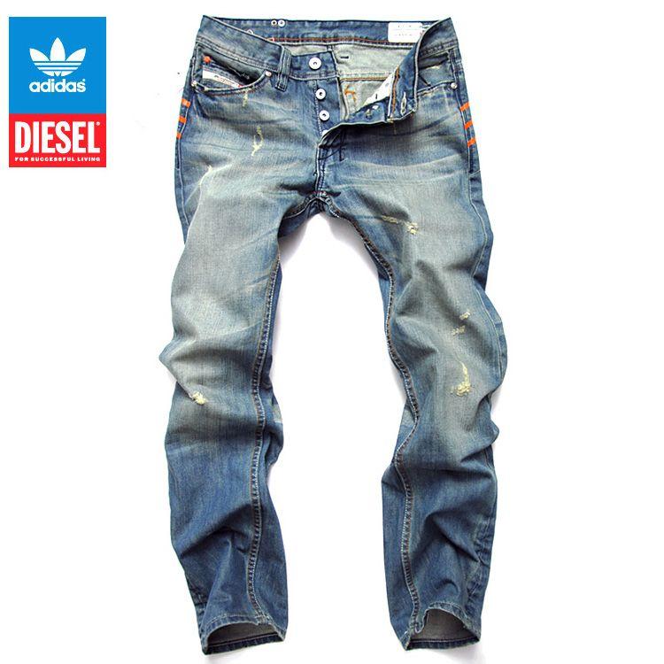 Adidas Jeans Man Wholesale Sale Sell Mens Straight Jeans Denim Jeans Men Men Jeans Pants